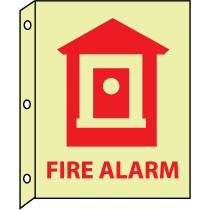 Fire Alarm Glow Sign (#GLTV7)