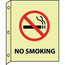 No Smoking Glow Sign (#GLTV9)