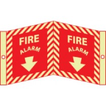 Fire Alarm Glow Visi-Sign (#GLV28)