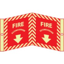 Fire Extinguisher Glow Visi-Sign (#GLV31)