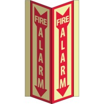 Fire Alarm Glow Visi-Sign (#GLV41)