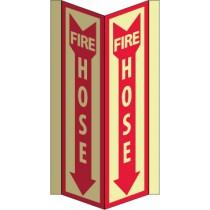 Fire Hose Glow Visi-Sign (#GLV45)
