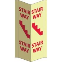 Stairway Glow Visi-Sign (#GLV46)