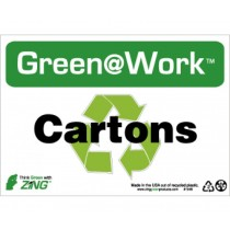 Cartons Going Green Sign (#GW1049)