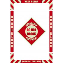 Emergency Equipment Floor Marking Kit (Glow)