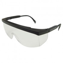 GALAXY™, black/clear anti-fog (#GX0111ID)