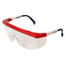 GALAXY™, red-white-blue/clear anti-fog (#GX0511ID)