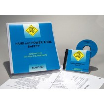 Hand and Power Tool Safety Interactive CD (#C0003070ED)
