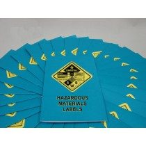 Hazardous Materials Labels Booklet (#B0002100EM)