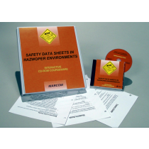 HAZWOPER: Safety Data Sheets in HAZWOPER Environments Interactive CD (#C0002180ED)