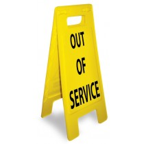 Caution Out Of Service Heavy Duty Floor Stand (#HDFS209)