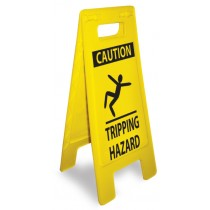 Caution Tripping Hazard Heavy Duty Floor Stand (#HDFS212)