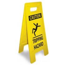 Caution Tripping Hazard Heavy Duty Floor Stand (#HDFS212)