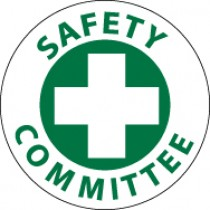 Safety Committee Hard Hat Emblem (#HH11)