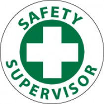 Safety Supervisor Hard Hat Emblem (#HH28)