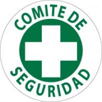 Comite De Seguridad Hard Hat Emblem (#HH37)