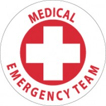 Medical Emergency Team Hard Hat Emblem (#HH48)