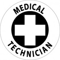 Medical Technician Hard Hat Emblem (#HH49)