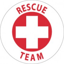 Rescue Team Hard Hat Emblem (#HH51)