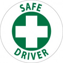 Safe Driver Hard Hat Emblem (#HH52)