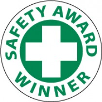 Safety Award Winner Hard Hat Emblem (#HH53)