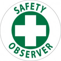Safety Observer Hard Hat Emblem (#HH78)