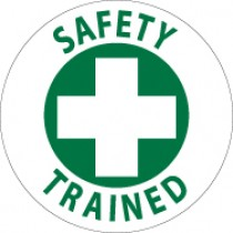 Safety Trained Hard Hat Emblem (#HH81)