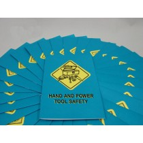 Hand and Power Tool Safety Booklet (#B000HPT0EM)