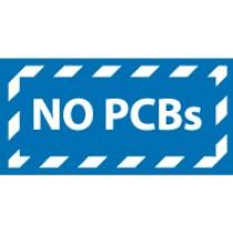 No PCBs Label (#HW14)