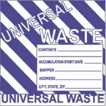 Universal Waste Label (#HW31AL)