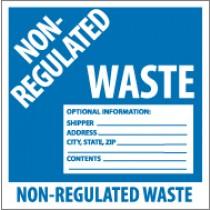 Non-Regulated Waste Label (#HW9N)