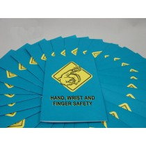 Hand, Wrist, and Finger Safety Booklet (#B000HWF0EM)