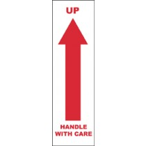 Up Handle With Care International Shipping Label (#IHL10AL)