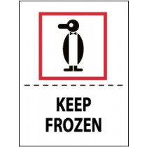 Keep Frozen International Shipping Label (#IHL12AL)