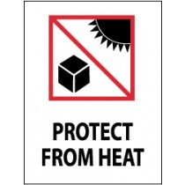Protect From Heat International Shipping Label (#IHL13AL)