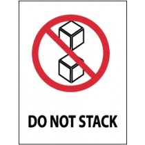 Do Not Stack International Shipping Label (#IHL15AL)