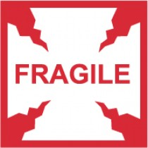 Fragile International Shipping Label (#IHL2AL)