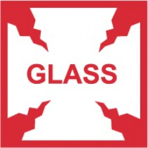 Glass International Shipping Label (#IHL4AL)