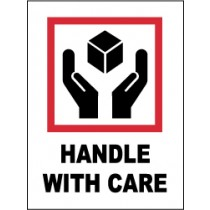 Handle With Care International Shipping Label (#IHL7AL)