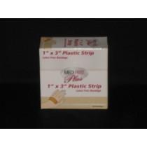 "Plastic Strip Bandage, 1' x 3"" (#P102033)"