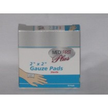 Gauze Pads, 2x2, 10/bx (#P103512)