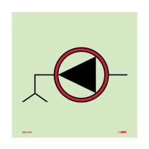 Symbol Emergency Bilge Pump IMO Label (#IMO124)