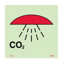 Symbol Space Protected by CO2 IMO Label (#IMO144)