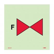 Symbol Foam Valve IMO Label (#IMO153)