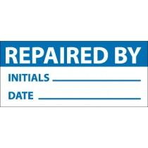 Repaired By Write-On Inspection Label (#INL10)