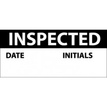 Inspected Write-On Inspection Label (#INL7)