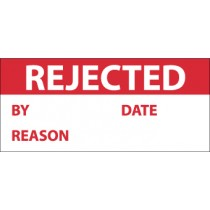 Rejected Write-On Inspection Label (#INL8)