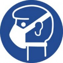 Wear Mask ISO Label (#ISO208AP)