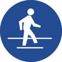 Use Pedestrian Route ISO Label (#ISO215AP)