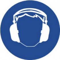 Hearing Protection ISO Label (#ISO402AP)